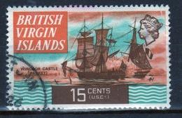 British Virgin Islands 1970 Queen Elizabeth Single 15 Cent  Stamp From The Definitive Set. - British Virgin Islands