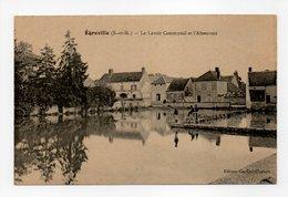 - CPA ÉGREVILLE (77) - Le Lavoir Communal Et L'Abreuvoir - Edition Georges Chabert - - France