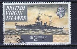 British Virgin Islands 1970 Queen Elizabeth Single $2  Stamp From The Definitive Set. - British Virgin Islands