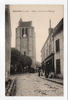 - CPA ÉGREVILLE (77) - Eglise - La Tour De L'Horloge - Edition Georges Chabert - - France