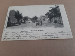 MONTAIGU  Rue De La Station Obl 1901 - Scherpenheuvel-Zichem