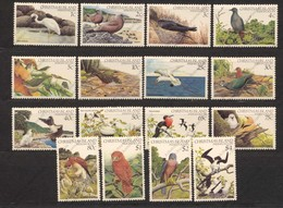 Christmas Island, Yvert 156/167&171/174, Scott 117/134, SG 152/167, MNH - Christmas Island