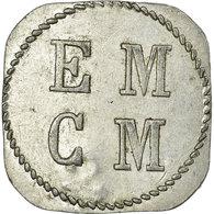 Monnaie, France, E. M. C. M, Saint-Hippolyte-du-Fort, 25 Centimes, TTB+ - Monetary / Of Necessity