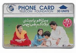 PAKISTAN USED CHIP PHONECARD 30 UNITS - Pakistan