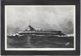 CPSM Sous Marin SFAX Non Circulé - Sottomarini