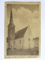 CP (72) Sarthe- PARIGNE Le POLIN - La Mairie Et L'Eglise - Other Municipalities