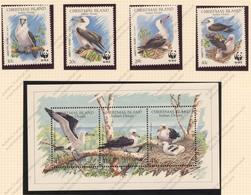 Christmas Island, Yvert 314/317+BF5, Scott 272/273+274, SG 303/306+MS307, MNH - Christmas Island