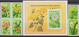 S. Tome E Principe - Fiori Flowers Flora Set MNH - Flora