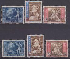 "Deutsches Reich 1942 Europäisches Postkongress Wien 3v + 3v Ovptd ""19 Okt. 1942"" ** Mnh (43003) - European Ideas"