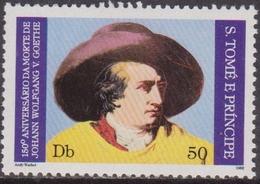 S. Tome E Principe - Goethe Set MNH - Altri