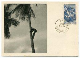 RC 12848 AOF AFRIQUE OCCIDENTALE 1952 CARTE IONYL PUBLICITÉ ADRESSÉE AUX MEDECINS - Brieven En Documenten