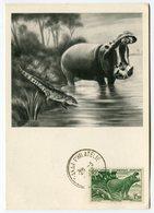 RC 12850 AOF AFRIQUE OCCIDENTALE 1952 CARTE IONYL PUBLICITÉ ADRESSÉE AUX MEDECINS - Brieven En Documenten
