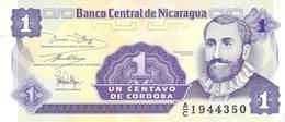 1 Centavos Nicaragua UNC - Nicaragua