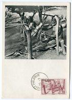 RC 12852 AOF AFRIQUE OCCIDENTALE 1952 CARTE IONYL PUBLICITÉ ADRESSÉE AUX MEDECINS - Brieven En Documenten