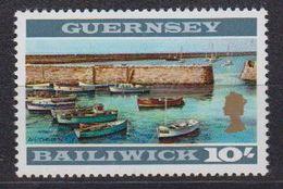 Guernsey 1969 Definitive 10sh.  Perf. 12.5 ** Mnh (43005A) - Guernsey