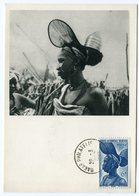RC 12853 AOF AFRIQUE OCCIDENTALE 1952 CARTE IONYL PUBLICITÉ ADRESSÉE AUX MEDECINS - Brieven En Documenten