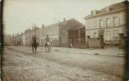 CARTE PHOTO - Faulquemont, Rue De Metz.(en 1915) - Faulquemont