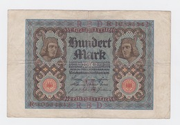 Billet De 100 Mark Du 11-1-1920   Pick 69 - [ 2] 1871-1918 : German Empire