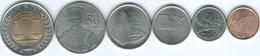 Ghana - 2007 - 1, 5, 10, 20 & 50 Pesewas & 1 Cedi (KMs 37-42) - Ghana