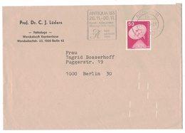 RB17     Berlin 1983 Special Postmark ANTIQUA '83 - Berlin (West)