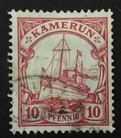 1906 Schiff Kaiseryacht Mi. 22 - Kolonie: Kamerun