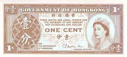 1 Cent Hongkong 1952 UNC - Hong Kong