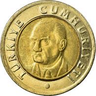 Monnaie, Turquie, New Lira, 2007, Istanbul, TTB, Bi-Metallic, KM:1169 - Turquie