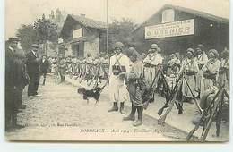 BORDEAUX - Août 1914 - Tirailleurs Algériens - Produits Agricoles D. Grenier - Guerre 1914-18