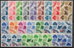 COTE DES SOMALIS : SERIES DE LONDRES N° 234/247 + 254/261 NEUVES * GOMME AVEC CHARNIERE - Unused Stamps