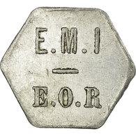 Monnaie, France, E. M. I, E. O. R, Saint-Maixent, 10 Centimes, TTB, Aluminium - Monetary / Of Necessity