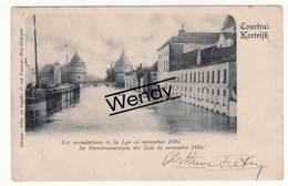 Kortrijk (de Overstromingen Der Leie In November 1894) - Kortrijk