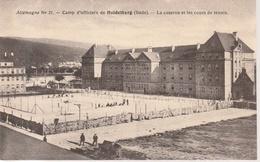 Stuttgart  Franz. Kaserne Mit Tennisplatz ,nicht Gelaufen - Stuttgart