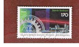 GERMANIA (GERMANY) - SG 2487  - 1992  MACHINE BUILDERS ASSOCIATION   - USED - [7] Federal Republic