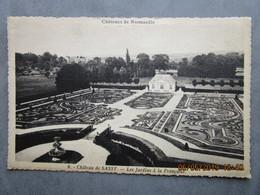 CPA 61 ST CHRISTOPHE LE JAJOLET Château De Sassy Les Jardins écrite De Le Ménil Brout Vers Damigni 1938 Paulette & Roger - Damigny