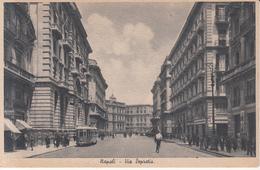 377 - Napoli - Via Depretis - Italia