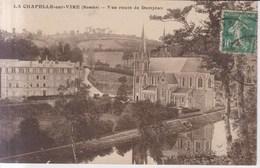 La Chapelle Sur Vire Vue Route De Domjean  1924 - Saint Lo