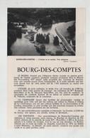 Bourg Des Comptes Bain De Bretagne 1965 - Old Paper