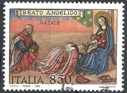 Italia, 1995 Natale, 850L # Sassone 2192 - Michel 2412 - Scott 2058  USATO - 6. 1946-.. Republik