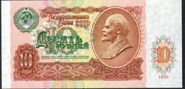 USSR Russia 10 Ruble 1991 UNC - Rusia