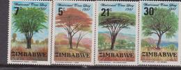 Zimbawe - Alberi Trees Set MNH - Alberi