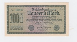 Billet 1000 Mark Du 1 -2 - 1923  Neuf - [ 2] 1871-1918 : Impero Tedesco