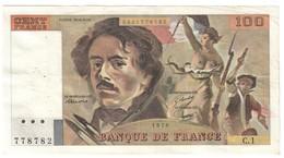 France 100 Francs 1978 First Year - Alphabet C1 - 1962-1997 ''Francs''