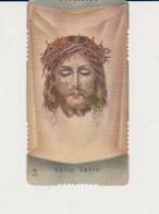 ANTICO SANTINO FUSTELLATO VOLTO SANTO EDITORE GN 479 IMPRIMATUR 1898 - Imágenes Religiosas