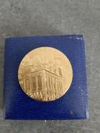 Médaille En Argent Doré Or Marqué Et Poinçonné Sur La Tranche - Société Industrielle De Rouen 1967 - Professionals / Firms