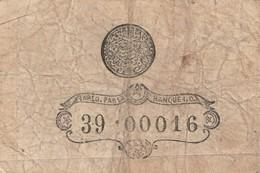 TURCHIA COSTANTINOPOLI 1 KURUSH 39.00016 ANNO 1877 BANQUE IMPERIALE OTTOMANE - Turkey