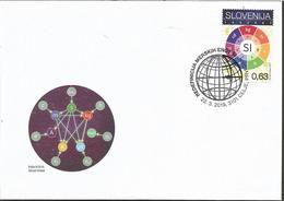 SI 2019-1359 Redefinition Of SI Base Units 1v, SLOVENIA, FDC - Slovénie