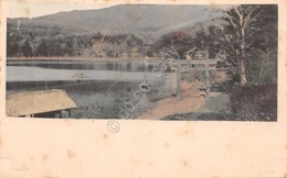 Cartolina Japan Kamakura Lake? Anni 20 - Cartoline