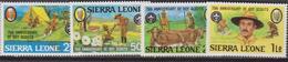 Sierra Leone Scout Set MNH - Organizzazioni