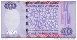 RWANDA P. 40 2000 F 2014 UNC - Ruanda