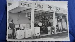 PHOTO DE STAND ELECTROMENAGER PHILIPS SAUTER CONORD  LEVEQUE GUY MONTENDRE 17   FORMAT 17.5  PAR 11.5 CM ANIMATION - Photos